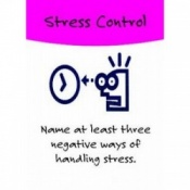 Stress Control Card Game By Betty Rudd